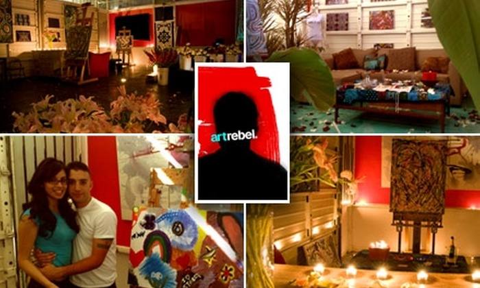 Art Rebel - Sherman Oaks: $65 for The Love Art Experience for Couples at Art Rebel
