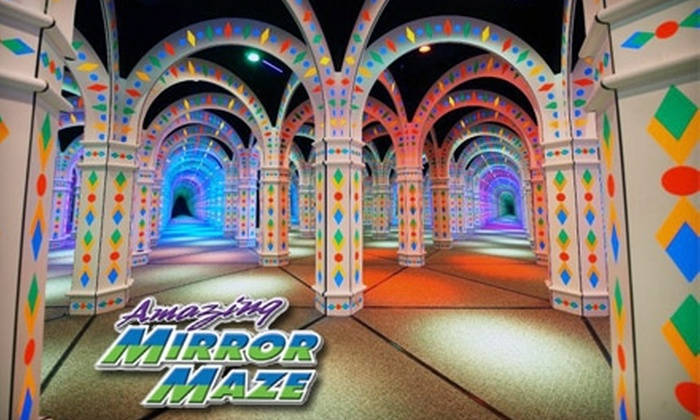 Amazing Mirror Maze - East Bloomington: $8 for Two Admissions to the Amazing Mirror Maze in Bloomington (Up to $17.54 Value)