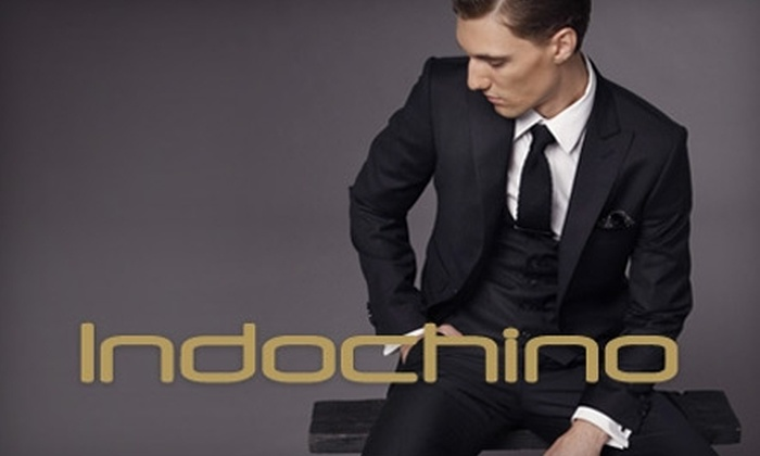 Indochino Apparel Inc: $50 for $100 Worth of Men's Custom Apparel at Indochino Online