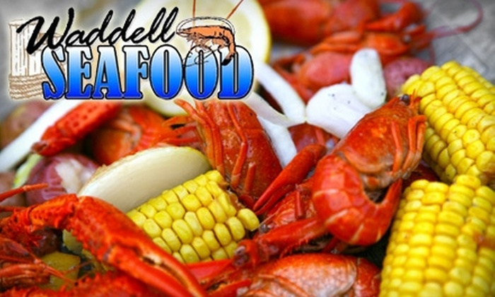 Waddell Seafood - Hartselle: $12 for $25 Worth of Seafood at Waddell Seafood
