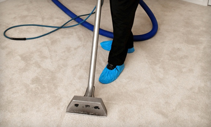 1 Payless Carpet Cleaning - Multiple Locations: Carpet Cleaning in Three or Five Rooms from 1 Payless Carpet Cleaning (Up to 84% Off)