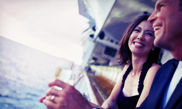 Jax Water Tours - Villano Beach: Two-Hour Wine-Tasting Sunset Cruise for Two, Four, or Six from Jax Water Tours (Half Off)