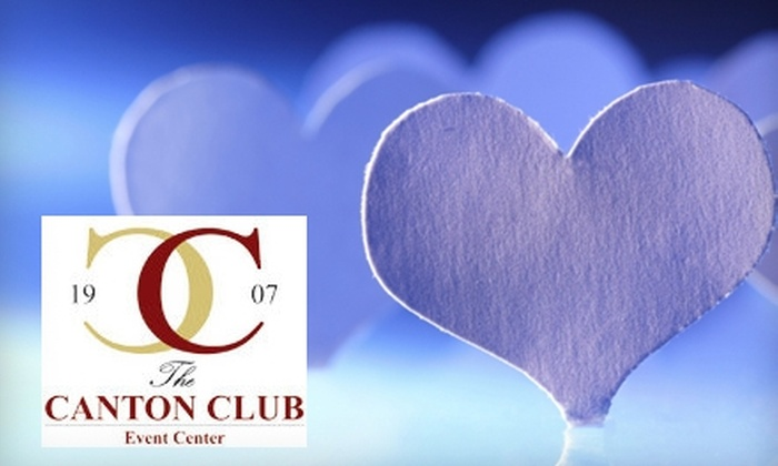 "The Canton Club Event Center - Canton: $18 for One Ticket to ""Scarlet Fever—A Romantic Comedy"" and a Buffet Dinner at The Canton Club Event Center ($34.95 Value)"