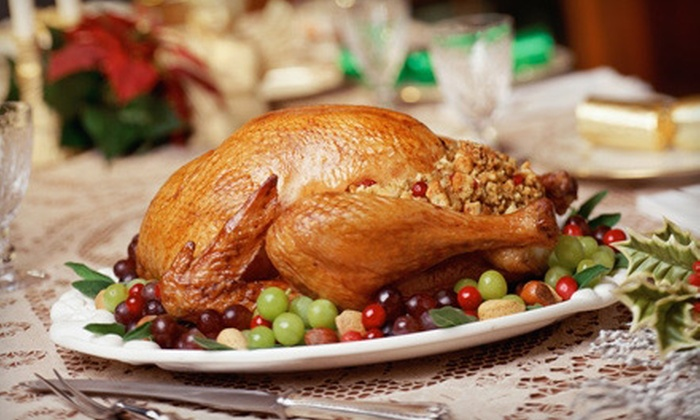 The Savory Spoon Catering Company - Frederick: Thanksgiving Feast for Up to Eight for Pick-Up or Delivery from The Savory Spoon Catering Company (52% Off)