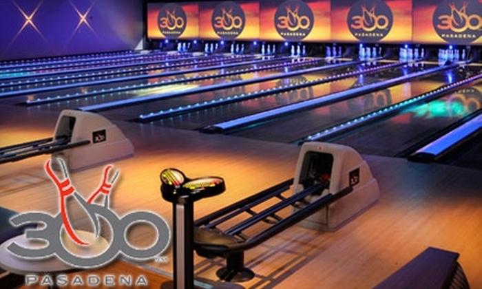 300 Pasadena - Northeast: $20 for $40 Worth of Bowling, Food, and More at 300 Pasadena