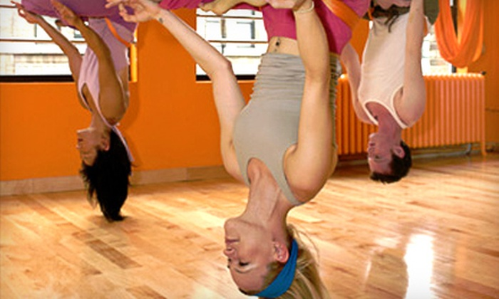 Vertical Girl Fitness - Warrenton: Five Anti-Gravity Yoga or Alternative Fitness Classes at Vertical Girl Fitness in Warrenton ($115 Value)
