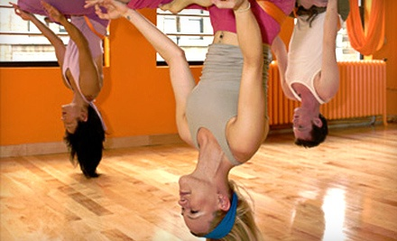 Five Drop-in Anti-Gravity Yoga Classes (a $115 value) - Vertical Girl Fitness in Warrenton