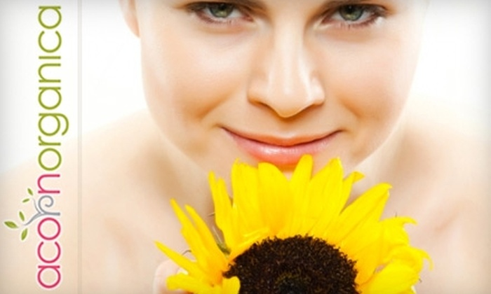 Acorn Organica - Richmond: $40 for $80 Worth of Skin Services at Acorn Organica