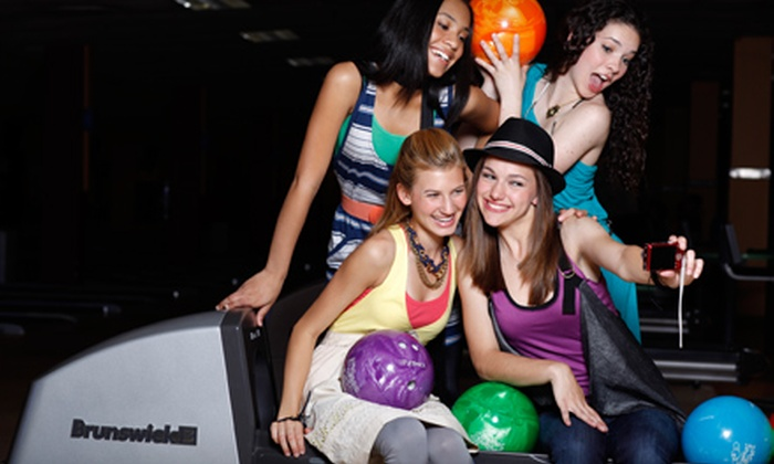 Brunswick Zone - San Diego: $5 for Two Games of Bowling Plus One Pair of Rental Shoes at Brunswick Zone (Up to $16 Value)