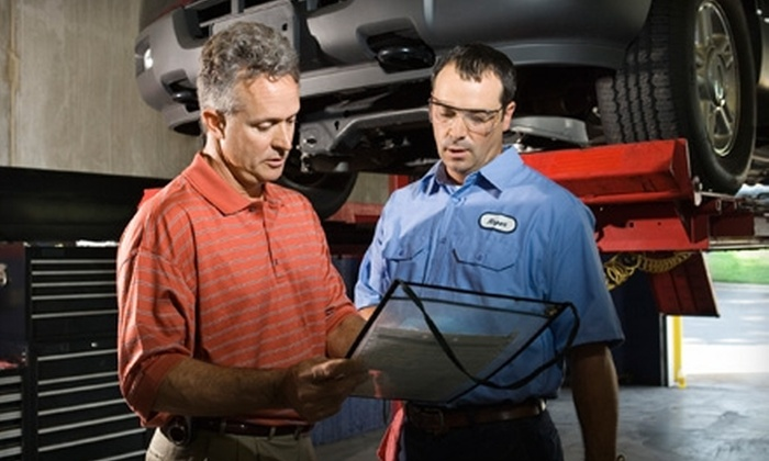 Pleasant Car Care - Boston: $49 for Complete Car Service at Pleasant Car Care in Watertown ($155.90 Value)