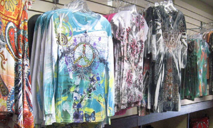 Just Tees'n - Downtown Amarillo: $10 for $20 Worth of Apparel and Accessories at Just Tees'n