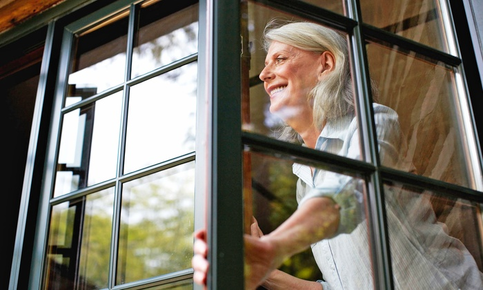 Metro Wide Cleaning - Overland Park: Window Cleaning for 25 Windows, or Gutter Cleaning from Metro Wide Cleaning (51% Off)