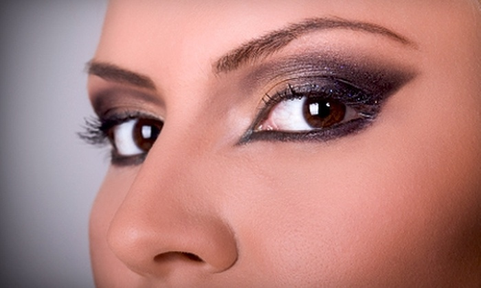 Faces of Virtue - Slidell: $62 for Airbrush-Makeup Application, Eyelash Application, and Eyebrow Shaping at Faces Of Virtue in Slidell ($135 Value)