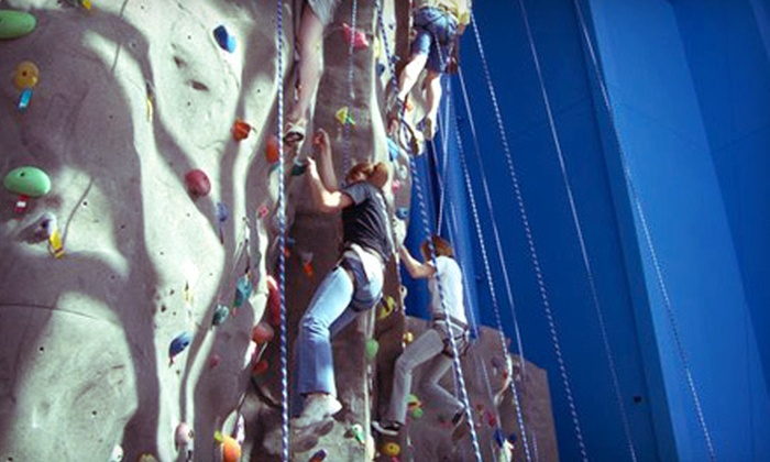 iRock Utah - Ogden Central Buisness District: Indoor Rock-Climbing Outing for Two or Private Climbing Party for Up to 15 at iRock Utah in Ogden (Up to 52% Off)