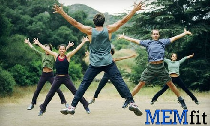 MEMfit Boot Camp - Multiple Locations: $45 for Four Weeks of Boot Camp with MEMfit ($250 Value)