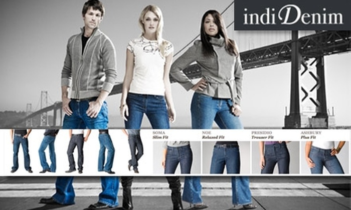 indiDenim - San Francisco: $80 for $145 Worth of Custom-Fit Jeans at indiDenim