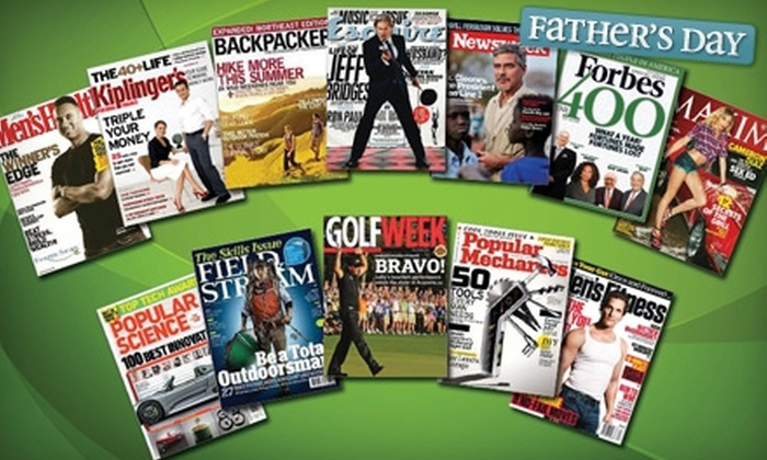 Magazine Subscriptions from BlueDolphin.com. Twelve Titles Available.