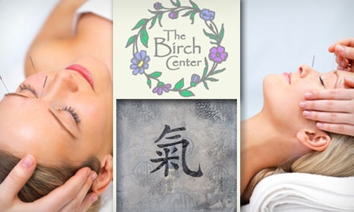 The Birch Center for Health - Southside Flats: $130 for Three Cosmetic Acupuncture Sessions at The Birch Center ($360 Value)