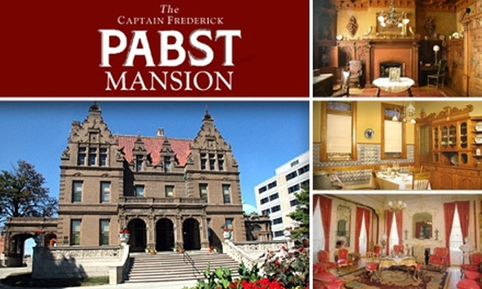 Captain Fredricks Pabst Mansion - Avenues West: $8 for Two Adult Tickets to Tour the Pabst Mansion ($18 Value)