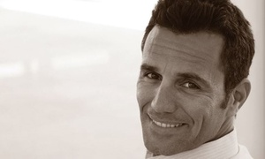 18|8 Fine Men's Salons - The Rim: One or Two Executive Men's Haircuts with Optional Add-On Service at 18|8 Fine Men's Salons (Up to 51% Off)