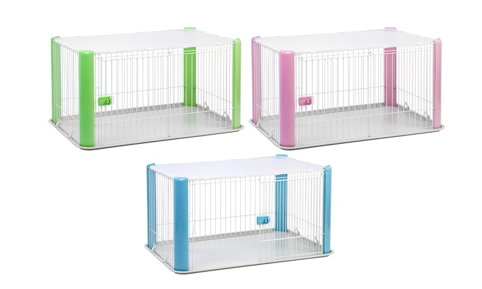Extra Large Wire Dog Play Pen With Removable Roof Groupon