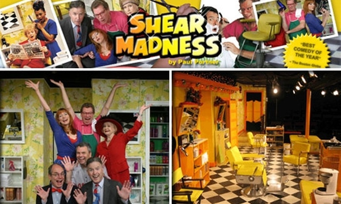 "Shear Madness - Downtown: $21 for One Ticket to ""Shear Madness"" at the Charles Playhouse ($42 Value)"