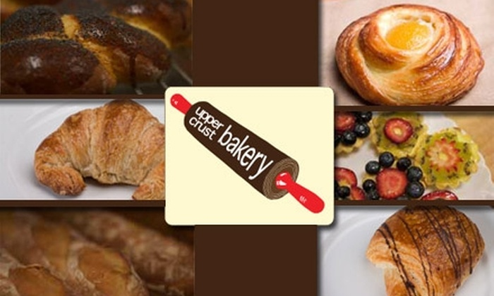 Upper Crust Bakery - Southeast Magnolia: $7 for $15 Worth of Fresh Pastries, Sandwiches, Coffees, and More at Upper Crust Bakery