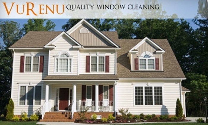 VuRenu - First Addition: $49 for $100 Worth of Window Cleaning, Gutter Cleaning, and More from VuRenu