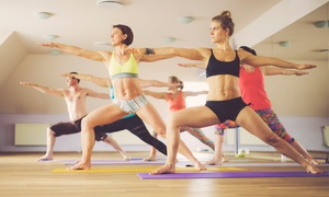 Bikram Yoga Lawrence Kansas: Month of Unlimited Bikram Yoga Classes or Five Classes at Bikram Yoga Lawrence Kansas (Up to 66% Off)