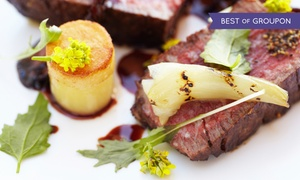 Hudson's on the Bend: Three-Course Chef's Tasting Menu for Two, Four, or Six at Hudson's on the Bend (48% Off)