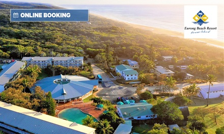 Fraser Island: 2-5 Nights for 2 People with Brekky and Wine at Eurong Beach Resort; $50 Off Barge Transfers