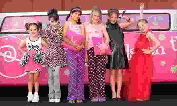 Sweet & Sassy - Multiple Locations: $14 for a Girl's Makeover Package with Updo, Makeup, and Photo at Sweet & Sassy ($29.95 Value). Two Locations Available.