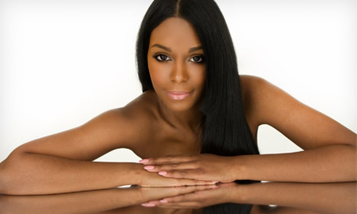 Renee at Hair Gallery 701 - Mission Valley East: One or Two Keratin Hair Treatments or One Relaxer Treatment from Renee at Hair Gallery 701 (Up to 62% Off)