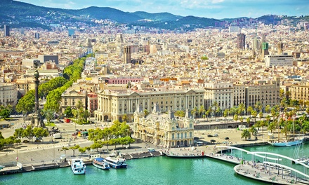 ✈ Barcelona: 2, 3 or 4 Nights at a Choice of Hotels with Return Flights*
