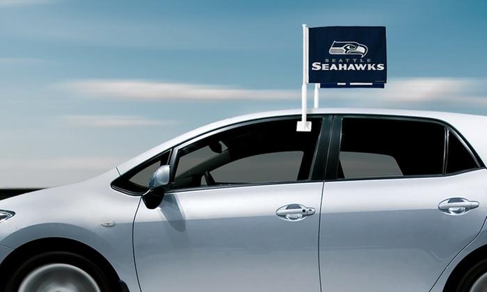2-Pack of Denver Broncos or Seattle Seahawks Car Flags: 2-Pack of Denver Broncos or Seattle Seahawks Car Flags. Free Returns.