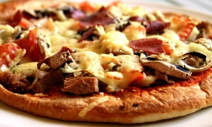Flip Flops: Pizza Slice, Daiquiri, and Cover for Two or Four at Flip Flops (Up to 43% Off)