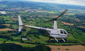 Heli Air: Sightseeing Helicopter Flight with Heli Air, Choice of Seven Locations Including Stratford upon Avon (Up to 46% Off*)