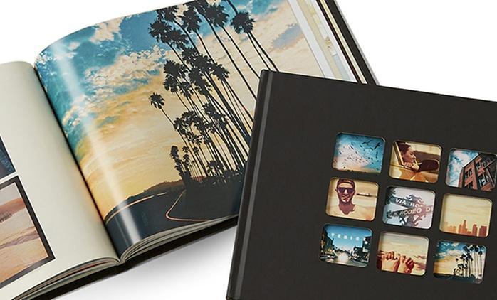 Fotobuch Mosaik A4 zum Selbstgestalten von PhotoBox (bis zu 63% sparen*)