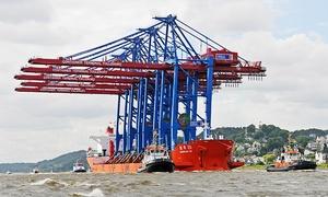 """Maritime Touren: 2-stündige Themen-Hafenrundfahrt """"Wissen hinter den Kulissen"""" für zwei bis zwölf Personen mit Maritime Touren ab 29,90 €"""