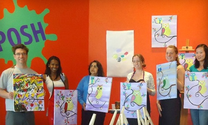 Posh - Boulder: $20 for a Paint Class at Posh in Boulder (Up to $40 Value)
