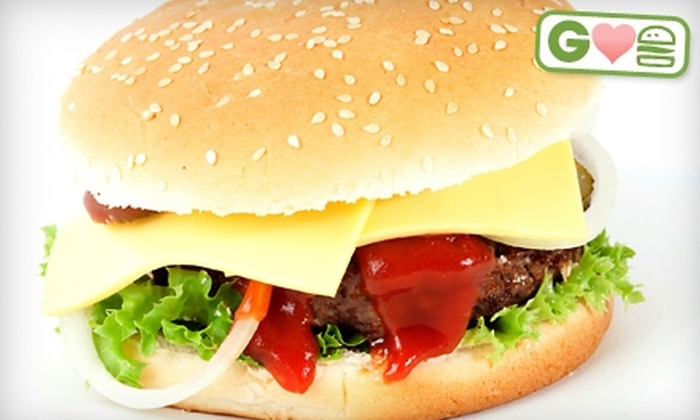 Twisted Burger - Doctor Phillips: $7 for $14 Worth of Gourmet Burgers and Drinks at Twisted Burger