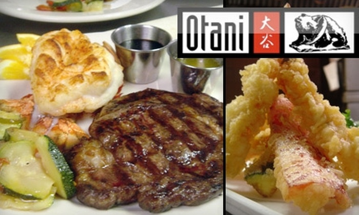 Otani Sushi - Columbus: $15 for $30 Worth of Authentic Japanese Cuisine, Noodle Dishes, Steak, and More at Otani Sushi