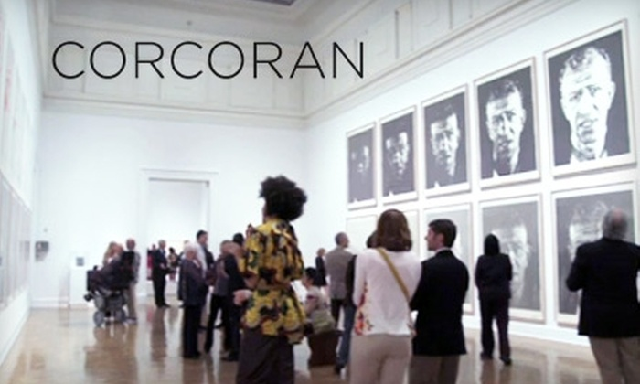 Corcoran Gallery of Art - Foggy Bottom - GWU - West End: $5 Admission to the Corcoran Gallery of Art