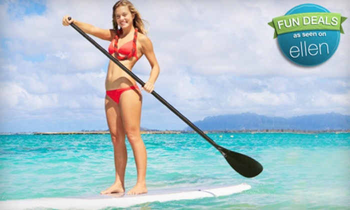 Channel Islands Kayak Center - Hollywood: Beginner Standup Paddleboard Lesson and Wildlife Tour for One or Two from Channel Islands Kayak Center (Up to 67% Off)