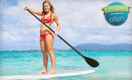 90-Minute Standup Paddleboard Adventure for 1 (a $150 value) - Channel Islands Kayak Center in Oxnard