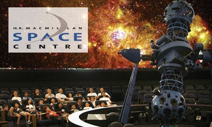 """H.R. MacMillan Space Centre  - Kitsilano: $10 for Two Tickets to """"The Universe in a Night"""" at the H.R. MacMillan Space Centre ($22.56 Value)"""