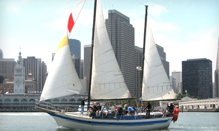San Francisco Sailing Company - Fisherman's Wharf: $28 for a Two-Hour Sailing Adventure from San Francisco Sailing Company ($55 Value)
