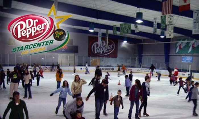 Dr Pepper StarCenter - Multiple Locations: $10 for Two Admissions and Skate Rentals at Dr Pepper StarCenter