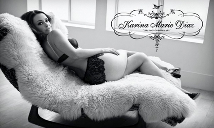 Karina Marie Diaz Photography - SoMa: $99 for a 45-Minute Ladies' Boudoir Photography Session, an Online Picture Gallery, and Two Prints at Karina Marie Diaz Photography ($545 Value)