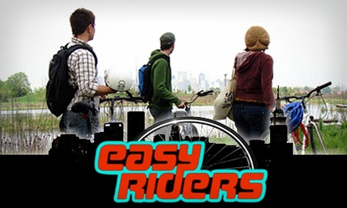 Easy Riders Jersey City - Historic Downtown: $25 Bike Tour to Liberty State Park with Easy Riders Jersey City